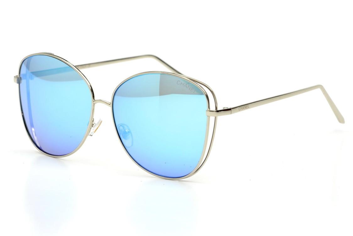 Жіночі сонцезахисні окуляри 2053blue SKL26-147520