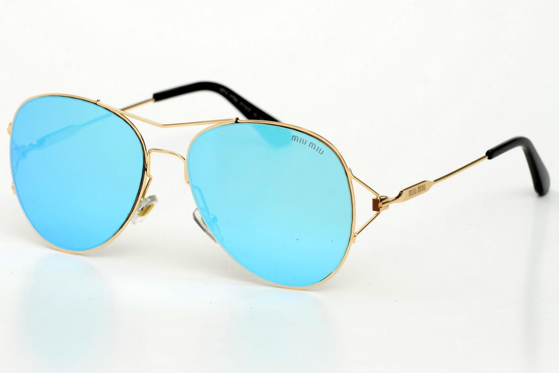 Жіночі сонцезахисні окуляри 2093blue SKL26-147533
