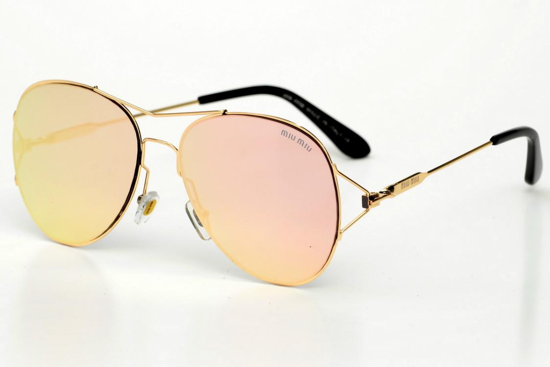 Жіночі сонцезахисні окуляри 2093pink SKL26-147531