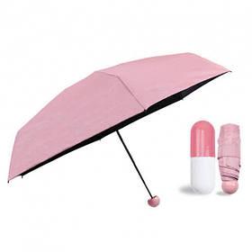 Міні-парасольку в капсулі Capsule Umbrella mini pink SKL11-261356