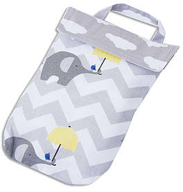 Кармашек для памперсов в сумку Organize слоники E003 SKL34-176313