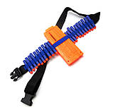 Бойовий набір для ігор зі зброєю Nerf жилет, бафф, окуляри, 20 куль, напульсник, патронташ SKL14-260967, фото 8