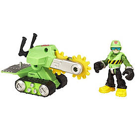 Волкер з рятувальною пилкою Боти рятувальники - Walker Cleveland, Saw, Rescue Bots, Hasbro SKL14-143418