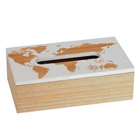 Бокс для салфеток World map SKL11-283896