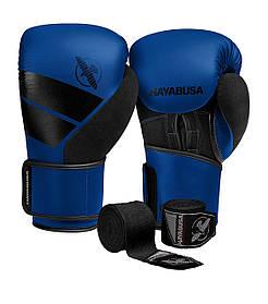 Боксерські рукавиці Hayabusa S4 Сині 16oz SKL24-252398