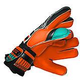Вратарские перчатки SportVida оранжевые Size 5 латекс SV-PA0006 SKL41-160702, фото 2