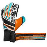 Вратарские перчатки SportVida оранжевые Size 5 латекс SV-PA0006 SKL41-160702, фото 4