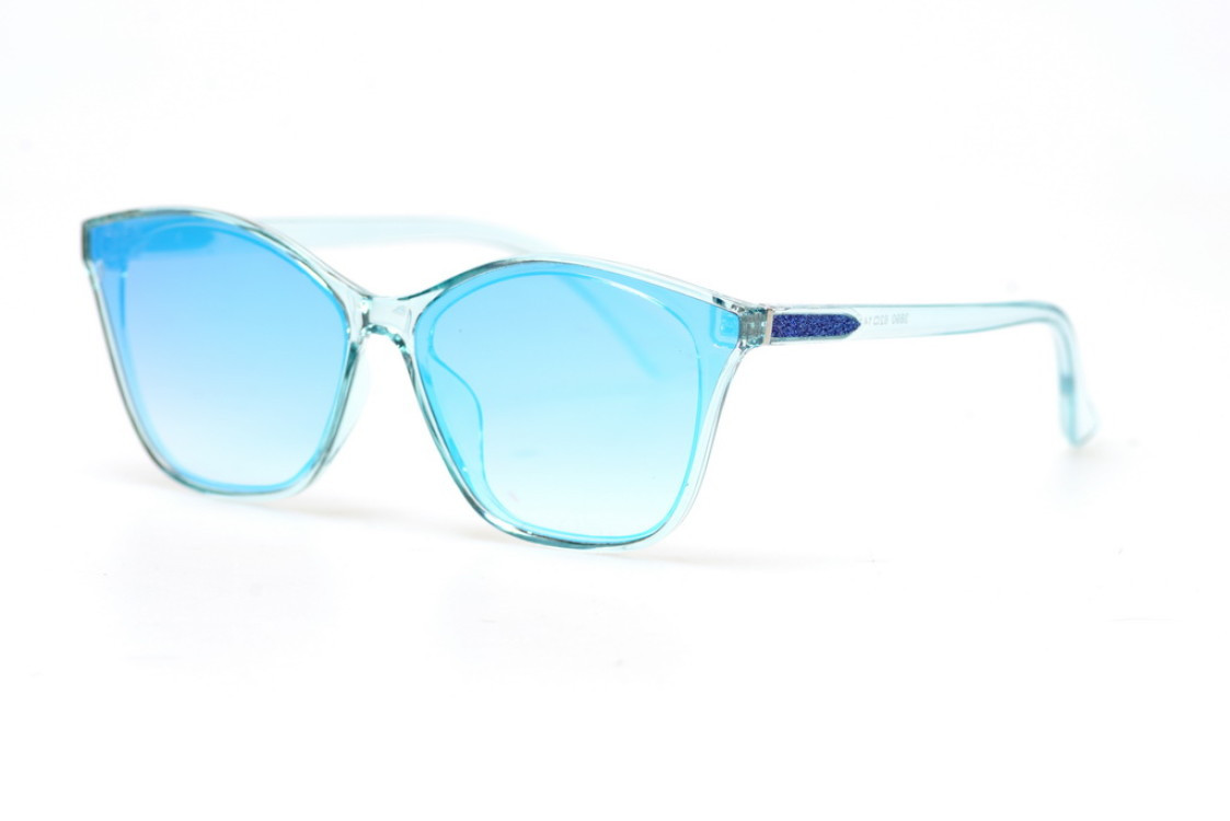 Жіночі сонцезахисні окуляри 3890blue SKL26-148351