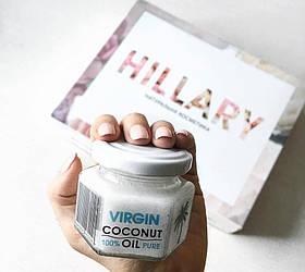 Нерафінована кокосове масло Hillary Virgin Coconut Oil 100мл SKL11-131383