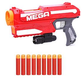 Мощный Мега бластер Hasbro Магнус с тактическим фонариком и набором стрел SKL14-221794