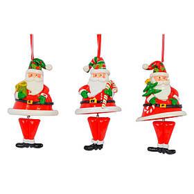 Новорічна підвіска Дід Мороз SKL11-208767