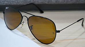 Cолнцезащитные очки Ray Ban Aviator поляризованные P4826 C1 62-14-135 Brown