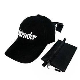 Кепка черная брендовая big logo SKL59-259477