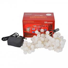 Гирлянда светодиодная шарики-пучок Led 100 SKL11-213210