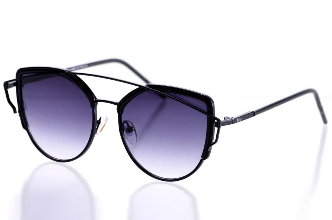 Жіночі сонцезахисні окуляри 8033black SKL26-147645