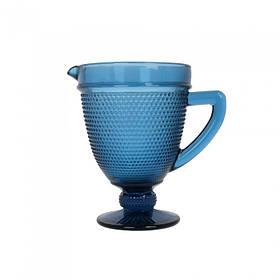 Графин скло Orleans синій SKL11-223168