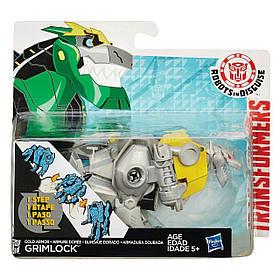 Гримлок в золотой броне. Роботы под прикрытием - Gold armor Grimlock, Rid, 1-Step, Hasbro SKL14-143125