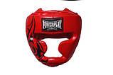 Боксерський шолом PowerPlay тренувальний 3043 Червоний XL SKL24-144059, фото 2
