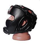 Боксерський шолом PowerPlay тренувальний 3043 Чорний XL SKL24-144193, фото 4