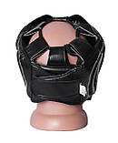 Боксерський шолом PowerPlay тренувальний 3043 Чорний XL SKL24-144193, фото 5