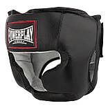 Боксерський шолом PowerPlay тренувальний 3065 Чорний S-M SKL24-143656, фото 2
