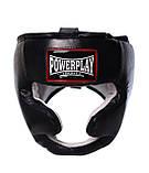 Боксерський шолом PowerPlay тренувальний 3065 Чорний S-M SKL24-143656, фото 3