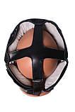 Боксерський шолом PowerPlay тренувальний 3065 Чорний S-M SKL24-143656, фото 6
