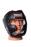 Боксерський шолом PowerPlay тренувальний 3065 Чорний S-M SKL24-143656, фото 7