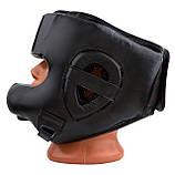 Боксерський шолом PowerPlay тренувальний 3067 з бампером PU, Amara Чорний S SKL24-144823, фото 6
