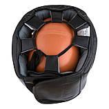 Боксерський шолом PowerPlay тренувальний 3067 з бампером PU, Amara Чорний S SKL24-144823, фото 8