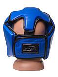 Боксерський шолом PowerPlay турнірний 3049 Синій S SKL24-143651, фото 6