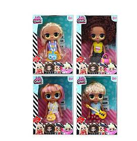 Кукла 4 вида, 1шт в коробке SKL11-224547