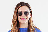 Жіночі сонцезахисні окуляри Dior-Techno-black SKL26-147448, фото 4