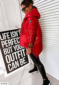 Куртка жіноча червона SKL11-289521