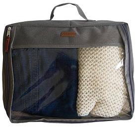 Большая дорожная сумка для вещей Organize серый P001 SKL34-176398