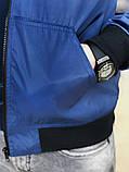 Бомбер Весна сине-голубой SKL59-259599, фото 3