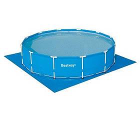 Подстилка для бассейнов 396х396 см, для бассейна до 366 см SKL11-249557