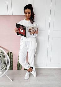 Жіночий костюм білий SKL11-290036