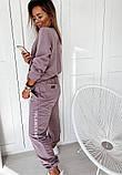 Жіночий костюм фрезовий SKL11-290039, фото 2