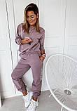 Жіночий костюм фрезовий SKL11-290039, фото 4