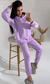 Спортивний костюм жіночий лаванда SKL11-291921