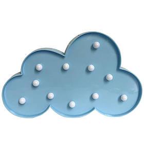 Декоративний світильник Led нічник Хмара KS Funny Lamp Cloud SKL25-145852