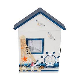 Ключница Морская синяя SKL11-208683