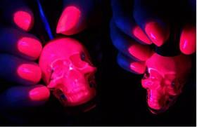 Світиться порошок оранжево рожевий в темряві і темно рожевий на світлі Просто і Легко 500г SKL12-241419