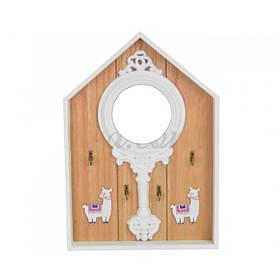 Ключница с зеркалом Alpaca SKL11-239384