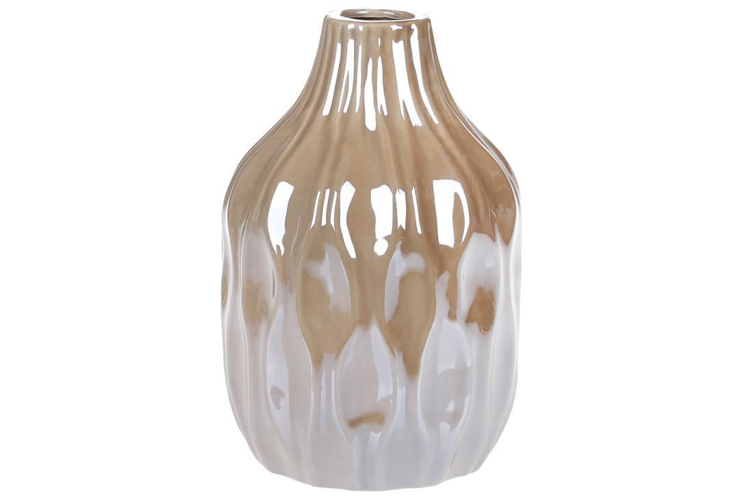 Ваза керамическая, 15,6 см, жемчужная серая SKL11-249936