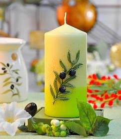 Свеча Olive цилиндр 60х130 SKL11-209100