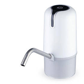 Помпа для води електрична з акумулятором Pump Dispenser White SKL25-223381