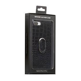 Задняя накладка Genuine Чехол для телефона Leather Croco for Apple Iphone 8 Plus SKL11-233879