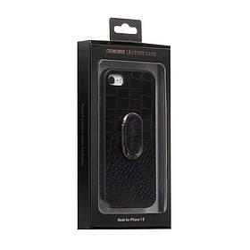 Задняя накладка Genuine Чехол для телефона Leather Croco for Apple Iphone 8G SKL11-233880